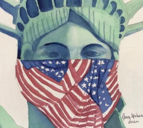 Nancy Upchurch Lady Liberty #27