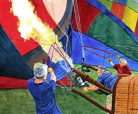 Fire in the Envelope by Jeff Blazejovsky