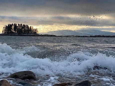 Challenge 10. Winter Seascape - Maine. P