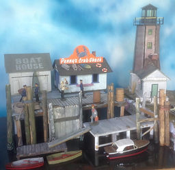 Models created by Jan McCollum. _Penny's