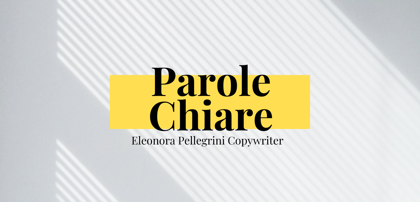 sito web parole chiare eleonora pellegri