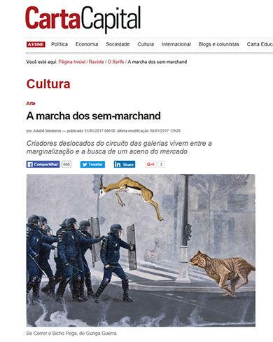 Se correr o bicho pega_ Gunga Guerra na Revista Carta Capital
