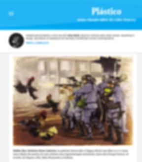 Briga de Galo/ Cockfight_Gunga Guerra na Coluna Plástico do Blog da folha de SP