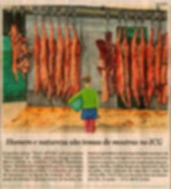 That's all folks_Gunga Guerra em nota do Jornal O Globo