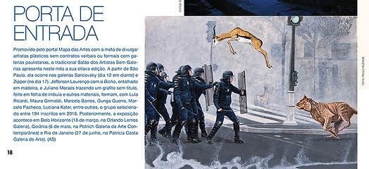 Se correr o bicho pega_Gunga Guerra na Revista da Cultura