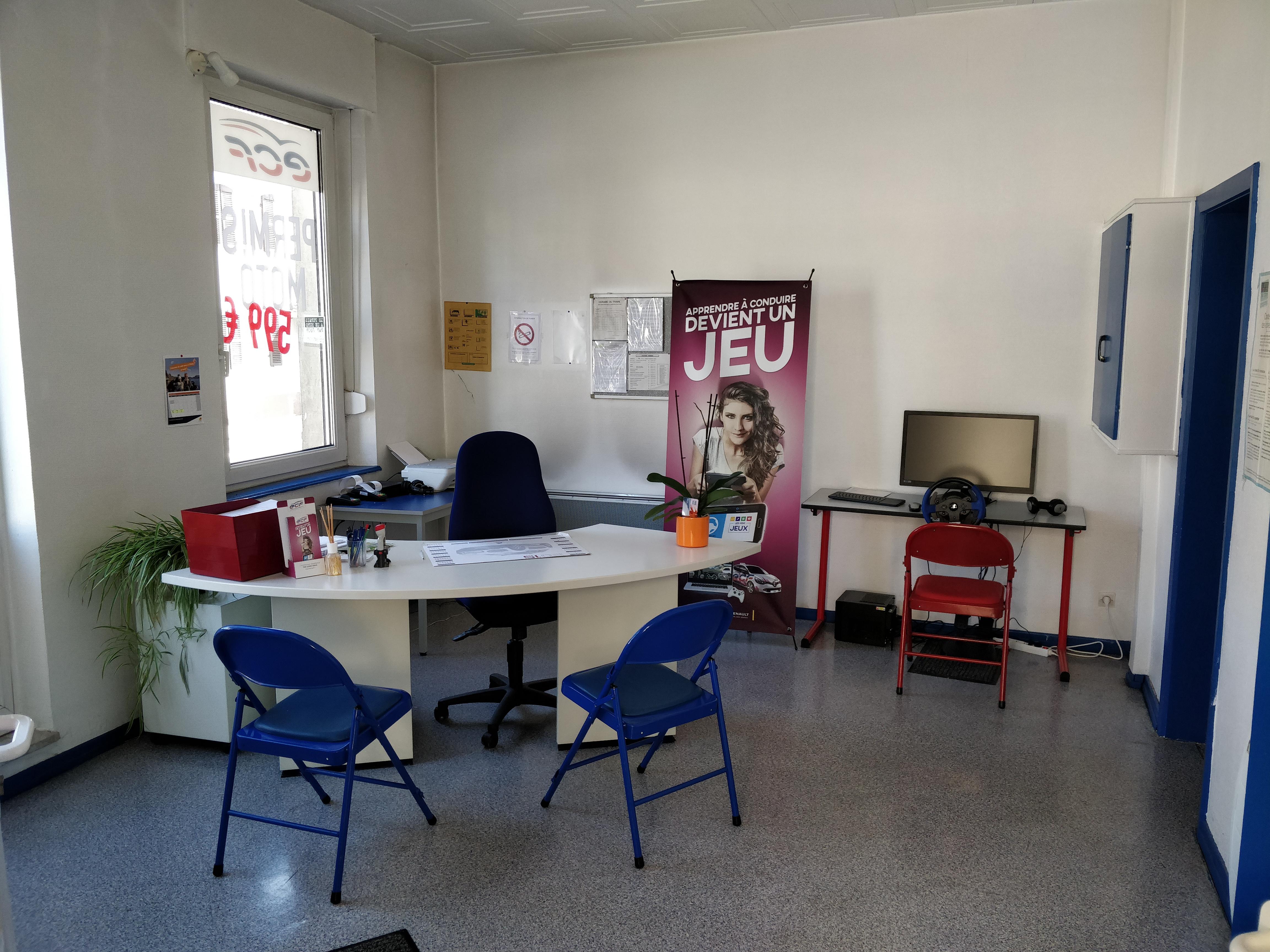Bureau de Schwindratzheim intérieur