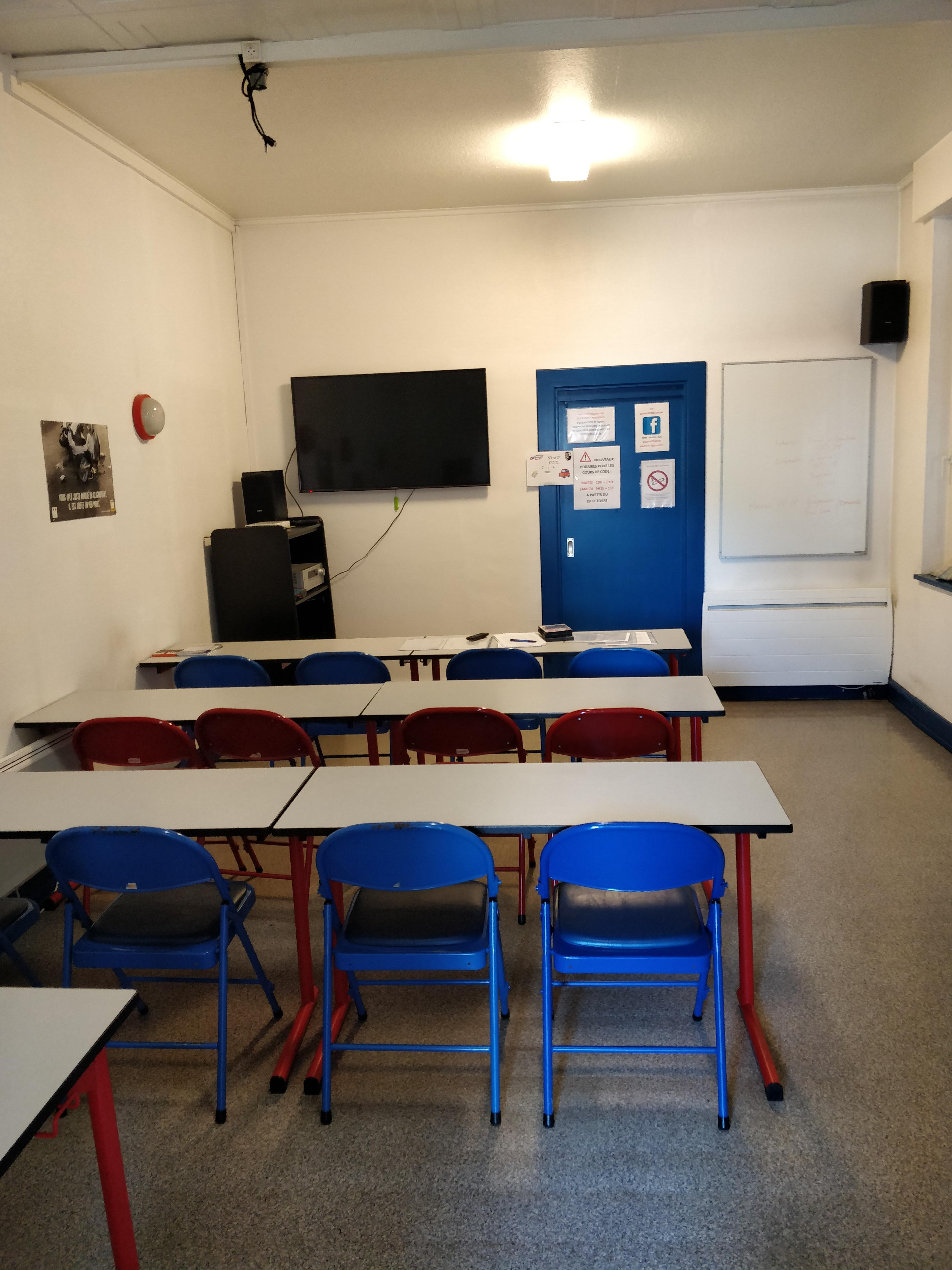 Bureau Schwindratzheim salle de code