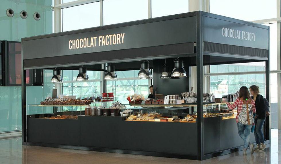 Tiendas de Chocolat Factory