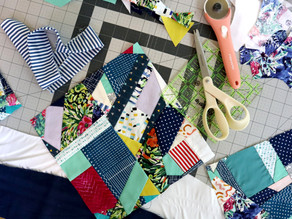 Crumb Quilting and Anxiety