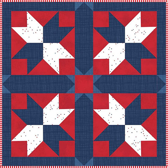 Mini Quilt Boxed Kit - Williamsburg In Summer from Christopher Thompson