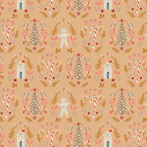 """Cozy & Magical """"Ginger Joy Sweet"""" Designed by Maureen Cracknell"""