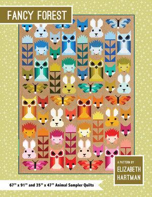 Fancy Forest Quilt Pattern by Elizabeth Hartman