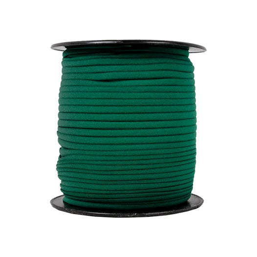 """Green Banded Stretch Elastic 1/6"""" x 5 yards"""