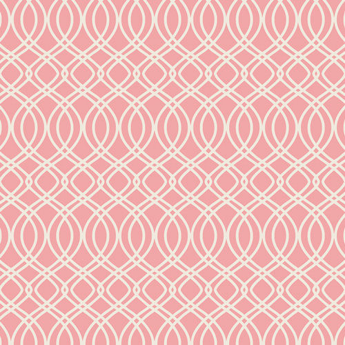 Bloomsbury Knotted Trellis Parfait Designed by Bari J. Fabric by the Yard