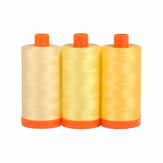 Aurifil Color Builder Thread Box - Sicily Yellow