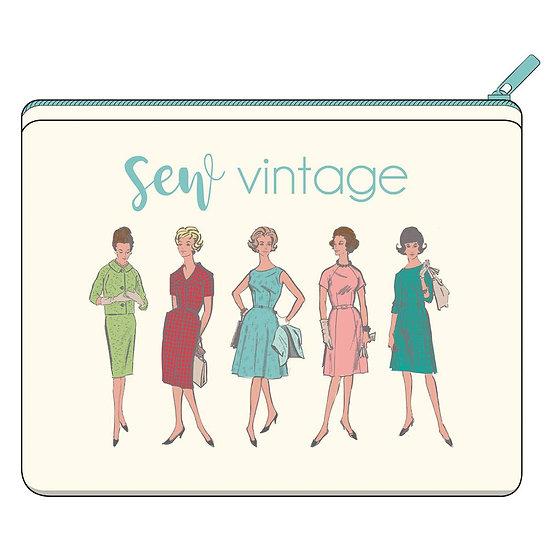 Lori Holt Sew Vintage - Canvas Zipper Bag