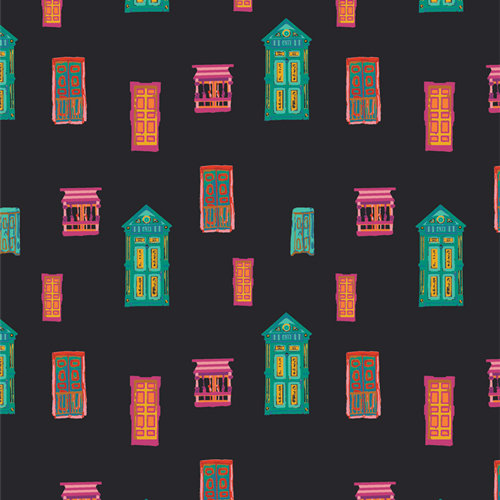 """Andina """"Andean Town"""" AGF - Fabric by the Yard"""