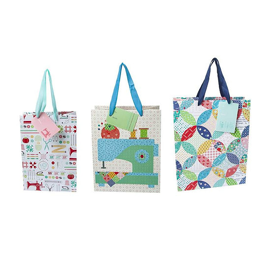 Lori Holt Gift Bag Quilty - Set of 24