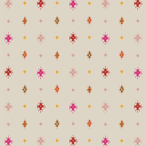 "Andina ""Awaska Vermilion"" AGF - Fabric by the Yard"