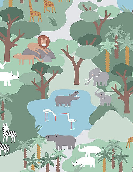 "Call of the Wild ""Safari"" for Dear Stella - Fabric by the Yard"