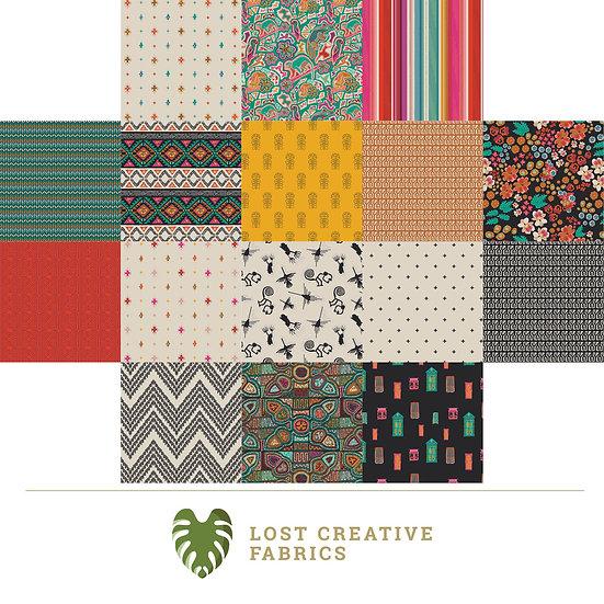 Andina by AGF Studio Fat Quarter Bundle for Art Gallery Fabrics - 16 Pieces