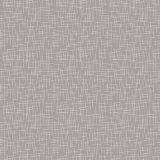 Large Hashtag Gray Fabric by the Yard