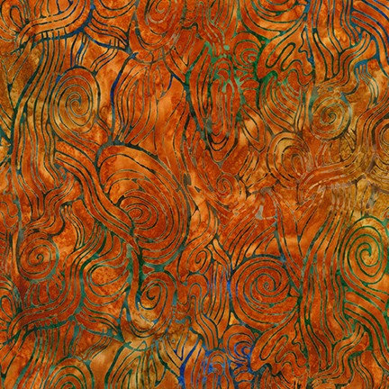 Artisan Batiks: Daybreak Rust 19892-179 - Fabric by the Yard