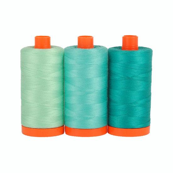 Aurifil Color Builder Thread Box - Capri Teal