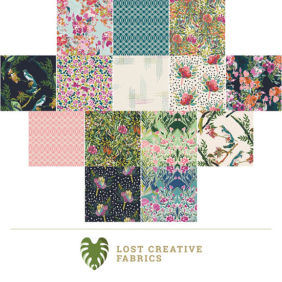 Bloomsbury by Bari J. Fat Quarter Bundle for Art Gallery Fabrics - 14 Pieces