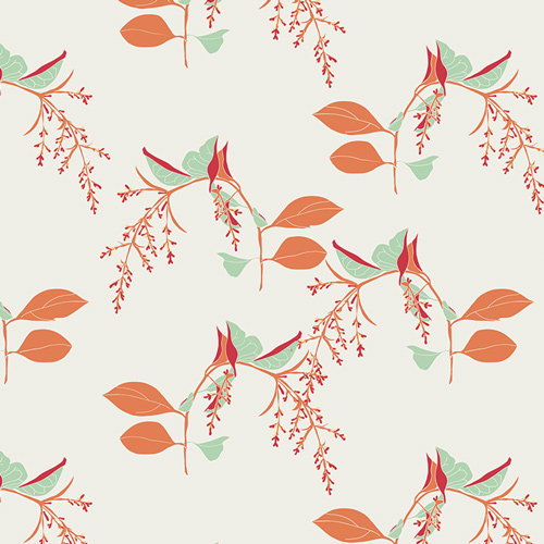 Branchlets Porcelain by Bonnie Christine for AGF - Fabric by the Yard