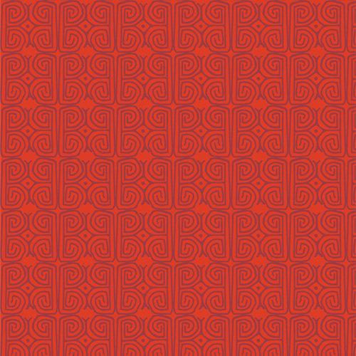 "Andina ""Crimson Chusi"" AGF - Fabric by the Yard"