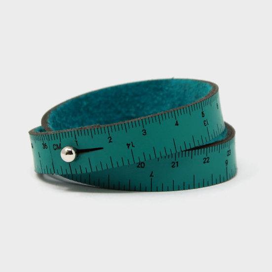 "Wrist Ruler - 15"" Wristband in Teal"