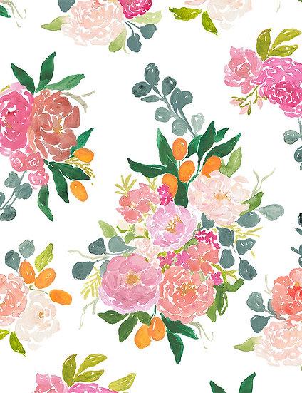 "Orangerie ""Bouquets in White"" for Dear Stella"
