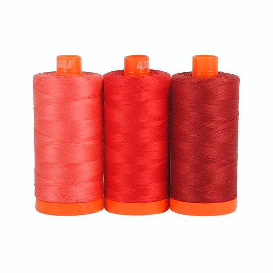 Aurifil Color Builder Thread Box - Pompeii Red