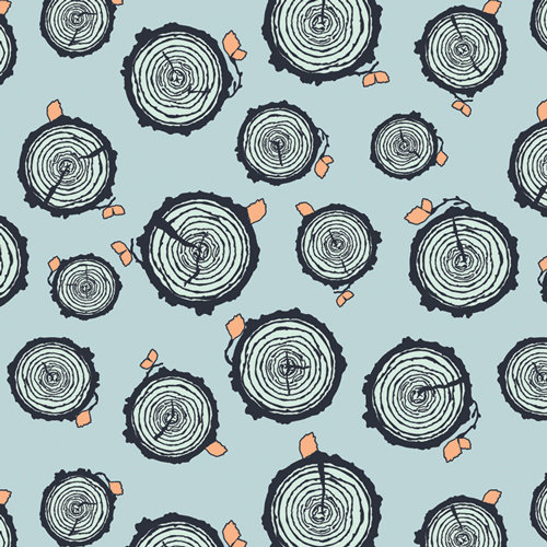 """Little Forester """"Rooted Forester"""" AGF - Fabric by the Yard"""