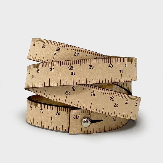 "Wrist Ruler - 30"" Wristband in Natural"