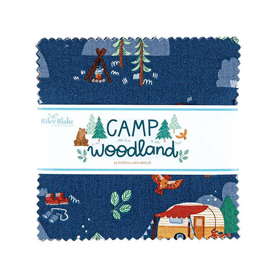 Camp Woodland 5 inch Stacker - 42 Pieces