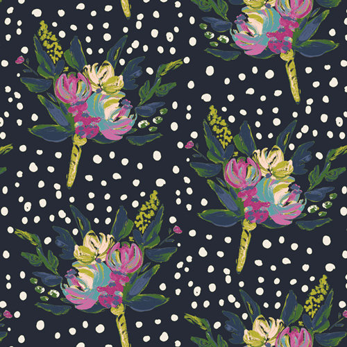 Bloomsbury West End Blooms Designed by Bari J. Fabric by the Yard