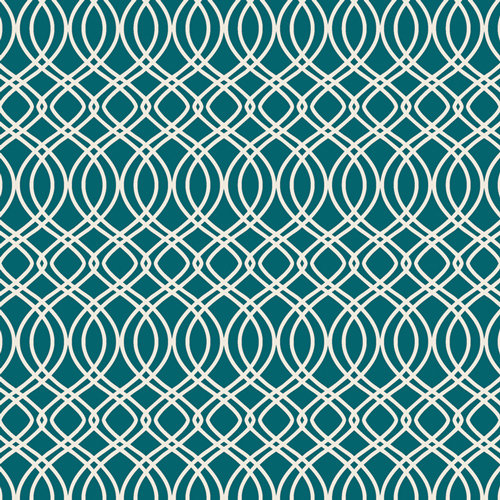 Bloomsbury Knotted Trellis Spearmint Designed by Bari J. Fabric by the Yard