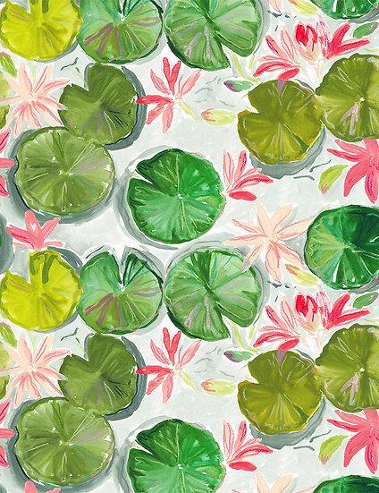 "Orangerie ""Lily Pads"" for Dear Stella"