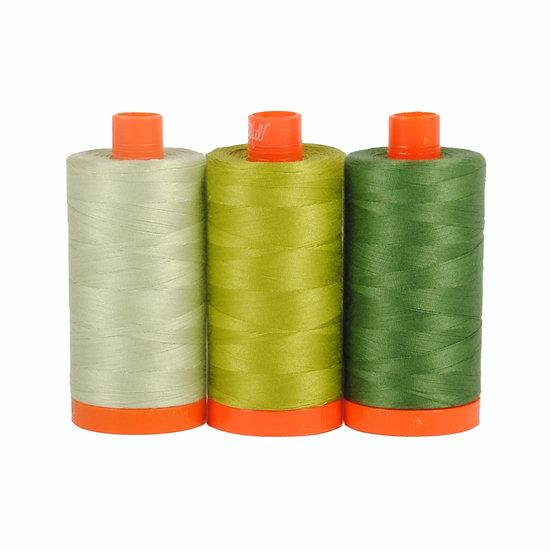 Aurifil Color Builder Thread Box - Dolomite Green