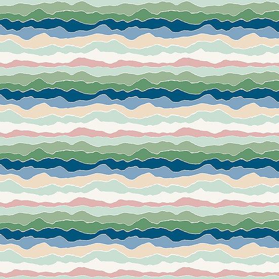 "Rocky Mountain Wild ""Range in Serenity"" for Riley Blake Designs"