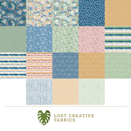 Rocky Mountain Wild Fat Quarter Bundle for Riley Blake Designs - 18 Pieces