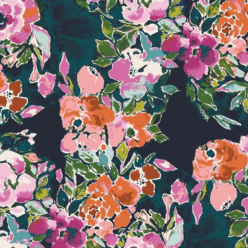 Bloomsbury Botanist's Essay Designed by Bari J. Fabric by the Ya