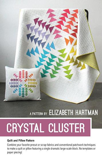 Crystal Cluster Quilt Pattern by Elizabeth Hartman