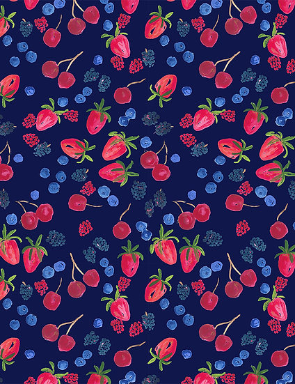 """American Summer """"Berry Picking"""" for Dear Stella"""