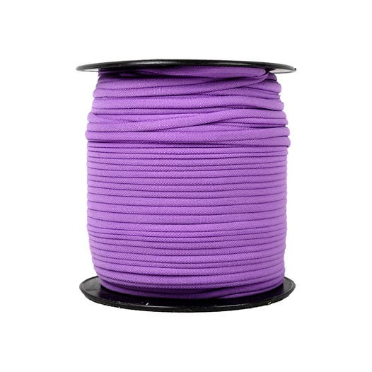 "Purple Banded Stretch Elastic 1/6"" x 5 yards"