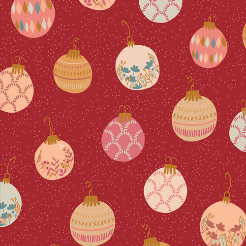 """Cozy & Magical """"Deck the Halls"""" Designed by Maureen Cracknell"""