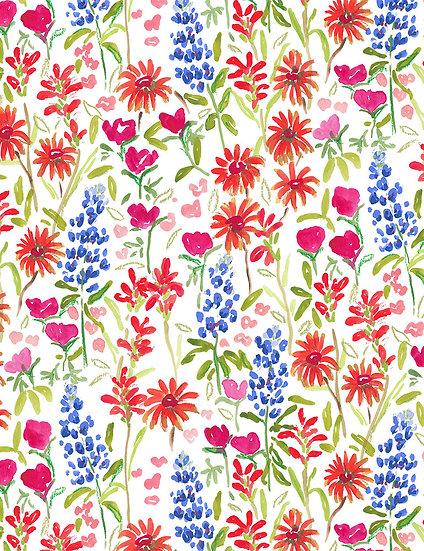 """American Summer """"Texas Wildflower"""" for Dear Stella"""