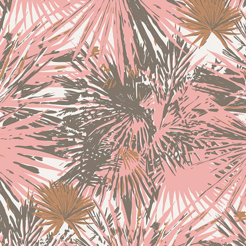 Tropical Bronze by Sharon Holland for AGF - Fabric by the Yard